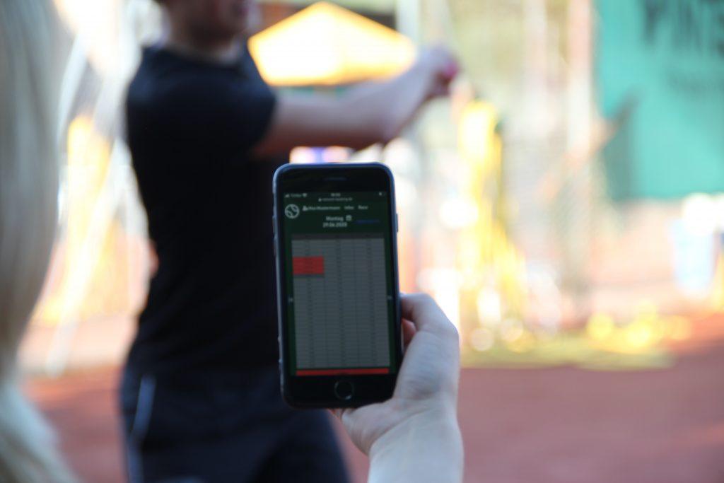 Onlinebuchungssystem für Tennisvereine